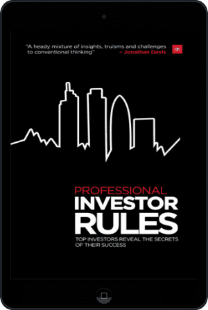 Cover of Professional Investor Rules (Ebook - tablet) by Jonathan Davis