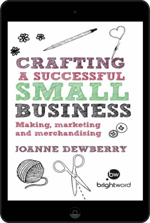 Cover of Crafting a Successful Small Business (Ebook - tablet) by Joanne Dewberry