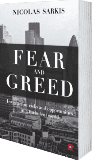 Cover of Fear and Greed (Hardback) by Nicolas Sarkis
