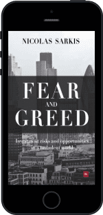 Cover of Fear and Greed by Nicolas Sarkis