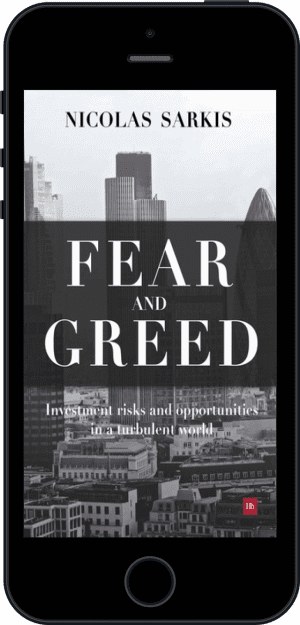 Cover of Fear and Greed (Ebook - phone) by Nicolas Sarkis