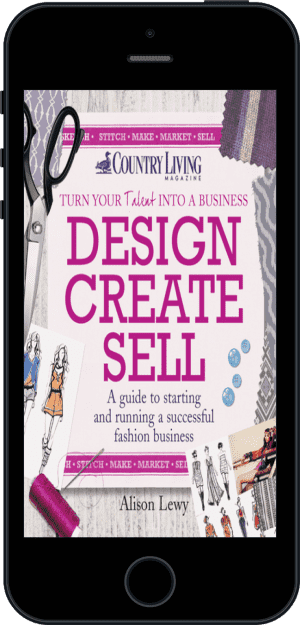 Cover of Design Create Sell (Ebook - phone) by Alison Lewy