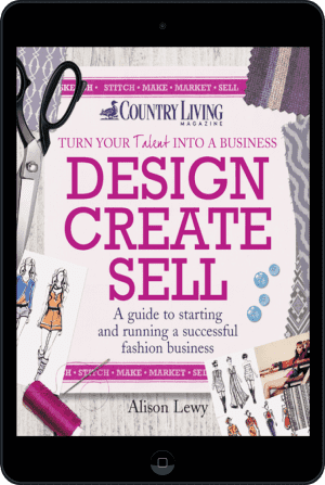 Cover of Design Create Sell (Ebook - tablet) by Alison Lewy