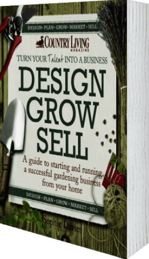 Cover of Design Grow Sell by Sophie Davies