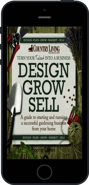 Cover of Design Grow Sell (Ebook - phone) by Sophie Davies