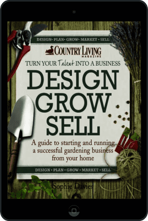 Cover of Design Grow Sell (Ebook - tablet) by Sophie Davies