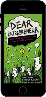 Cover of Dear Entrepreneur by Danny Bailey and Andrew Blackman