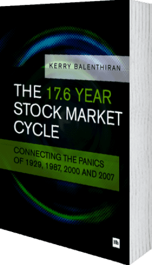 Cover of The 17.6 Year Stock Market Cycle (Paperback) by Kerry Balenthiran