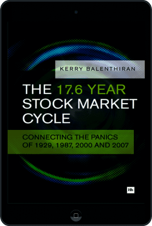 Cover of The 17.6 Year Stock Market Cycle (Ebook - tablet) by Kerry Balenthiran