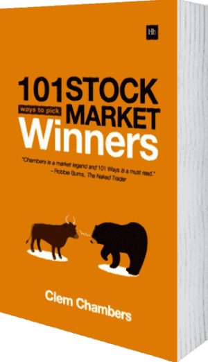 Cover of 101 Ways to Pick Stock Market Winners by Clem Chambers