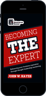 Cover of Becoming THE Expert by John W. Hayes