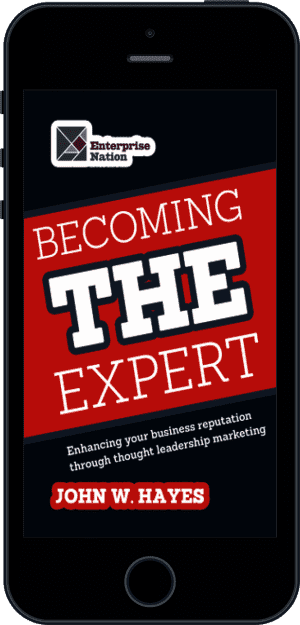 Cover of Becoming THE Expert (Ebook - phone) by John W. Hayes