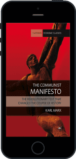 Cover of The Communist Manifesto by Karl Marx