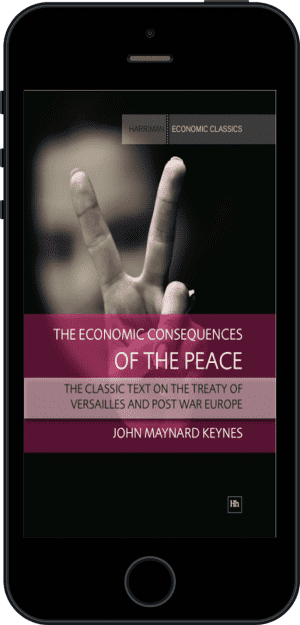 Cover of The Economic Consequences of the Peace (Ebook - phone) by John Maynard Keynes