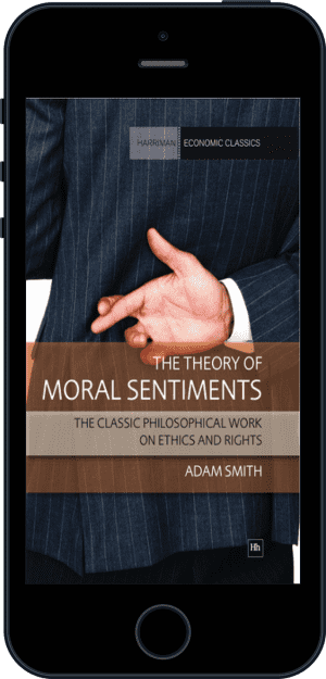 Cover of The Theory of Moral Sentiments (Ebook - phone) by Adam Smith