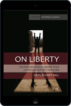 Cover of On Liberty by John Stuart