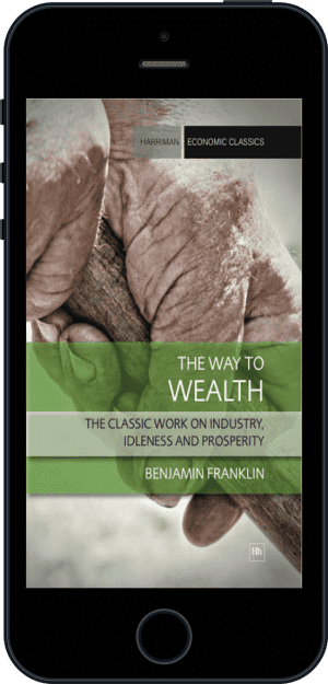 Cover of The Way to Wealth (Ebook - phone) by Benjamin Franklin