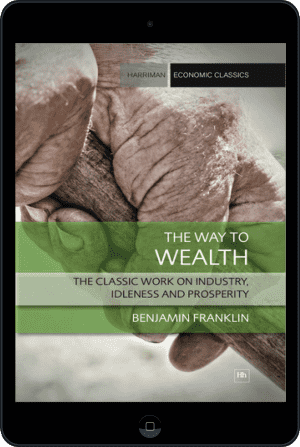 Cover of The Way to Wealth (Ebook - tablet) by Benjamin Franklin