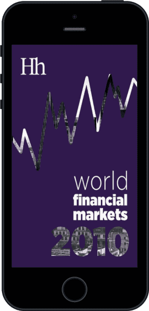 Cover of World Financial Markets in 2010 (Ebook - phone) by George G. Blakey