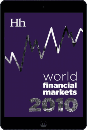 Cover of World Financial Markets in 2010 (Ebook - tablet) by George G. Blakey