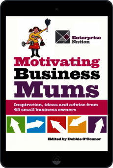 Cover of Motivating Business Mums by Debbie O'Connor