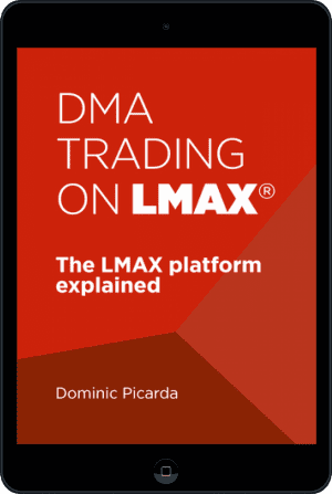 Cover of DMA Trading on LMAX (Ebook - tablet) by Dominic Picarda