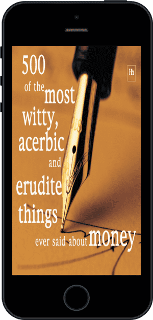 Cover of 500 of the Most Witty, Acerbic and Erudite Things Ever Said About Money (Ebook - phone) by Philip Jenks