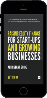Cover of Raising Equity Finance for Start-up and Growing Businesses by Guy Rigby