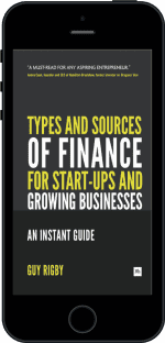Cover of Types and Sources of Finance for Start-up and Growing Businesses by Guy Rigby