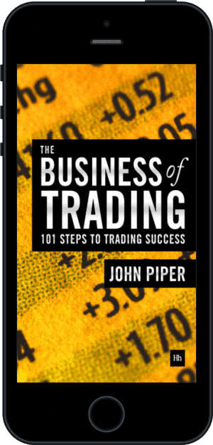 Cover of The Business of Trading (Ebook - phone) by John Piper