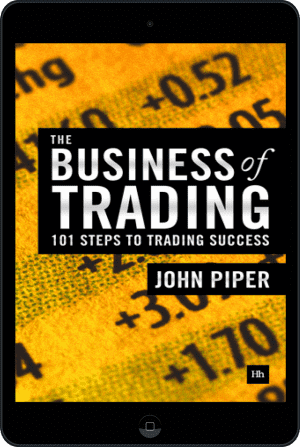 Cover of The Business of Trading (Ebook - tablet) by John Piper