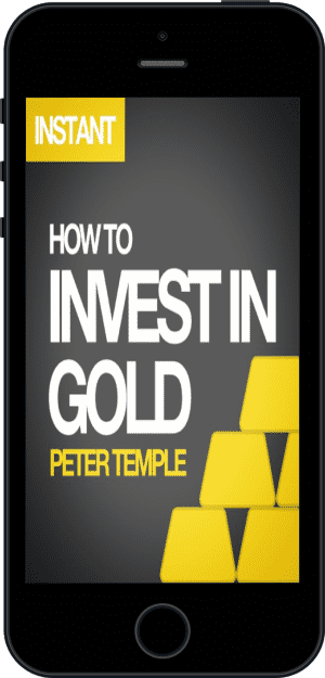 Cover of How to Invest in Gold (Ebook - phone) by Peter Temple