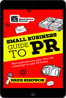 Cover of The Small Business Guide to PR by Greg Simpson