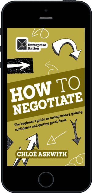 Cover of How to Negotiate (Ebook - phone) by Chloe Askwith