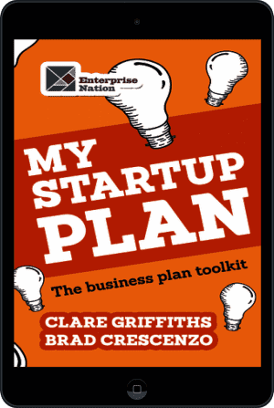 Cover of My Start-Up Plan (Ebook - tablet) by Clare Griffiths andBrad Crescenzo