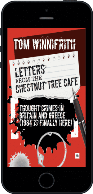 Cover of Letters from the Chestnut Tree Cafe (Ebook - phone) by Tom Winnifrith