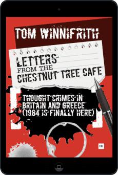 Cover of Letters from the Chestnut Tree Cafe by Tom Winnifrith