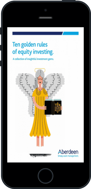 Cover of Ten Golden Rules of Equity Investing (Ebook - phone) by Hugh Young