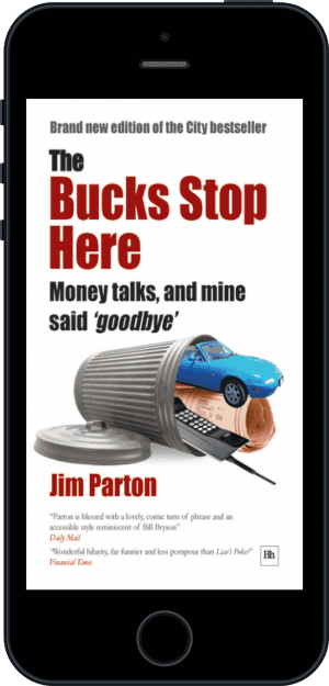 Cover of The Bucks Stop Here (Ebook - phone) by Jim Parton