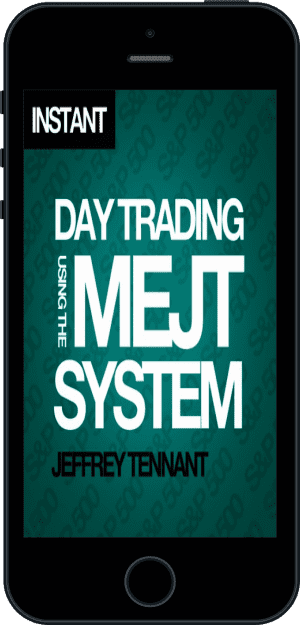Cover of Day Trading Using the MEJT System (Ebook - phone) by Jeffrey Tennant