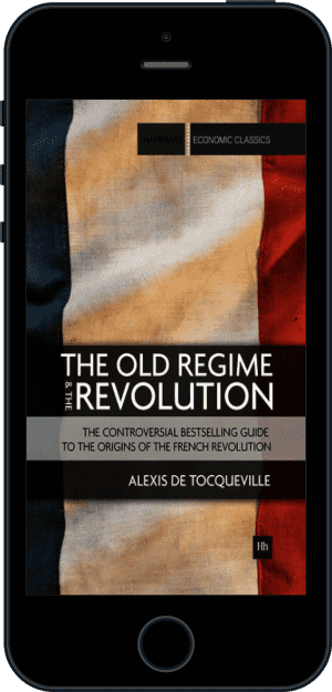 Cover of The Old Regime and the Revolution (Ebook - phone) by Alexis de Tocqueville