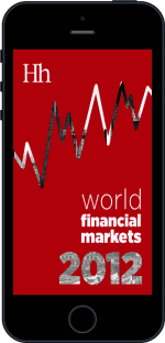 Cover of World Financial Markets in 2012 by George G. Blakey