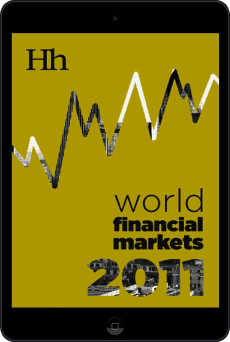 Cover of World Financial Markets in 2011 by George G. Blakey