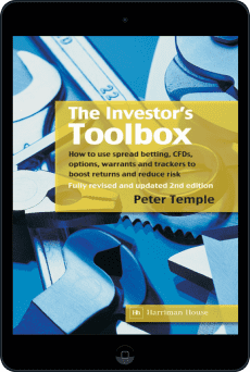 Cover of The Investor's Toolbox by Peter Temple