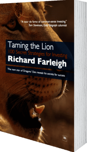 Cover of Taming the Lion (Paperback) by Richard Farleigh