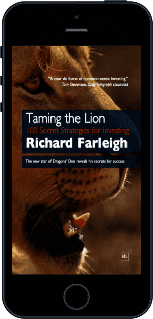 Cover of Taming the Lion (Ebook - phone) by Richard Farleigh