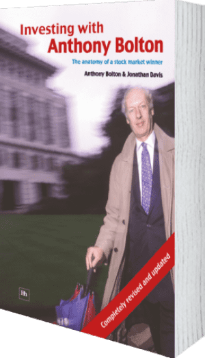 Cover of Investing with Anthony Bolton (Paperback) by Jonathan Davis andAnthony Bolton
