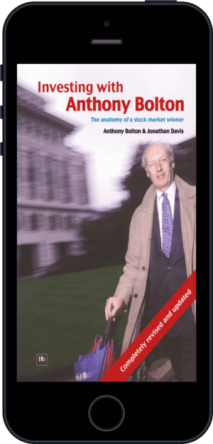 Cover of Investing with Anthony Bolton (Ebook - phone) by Jonathan Davis andAnthony Bolton