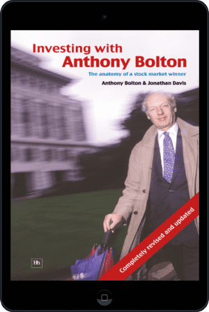 Cover of Investing with Anthony Bolton (Ebook - tablet) by Jonathan Davis andAnthony Bolton
