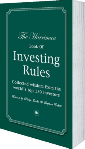 Cover of The Harriman Book Of Investing Rules by Stephen Eckett